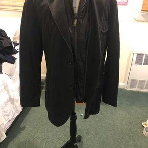 Boss orange heavy denim second lining coat medium